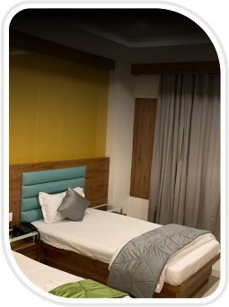 Room with extra beds